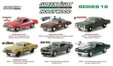 GREENLIGHT 44780 HOLLYWOOD SERIES / RELEASE 18, SET OF 6 DIECAST CARS 1:64