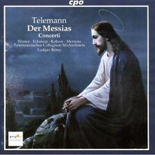 Ludger Remy, G.P. Telemann - Der Messias [New CD]