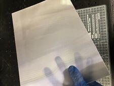Unicornio color rowlux Lenticular Hoja-Blanco//Gris Moire-Translúcido