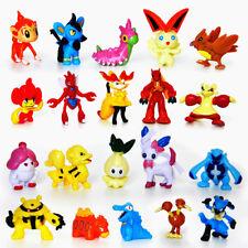 144Pcs Pokemon Pikachu Monster Mini Action Figures Pearl Pocket Toys Gift Random