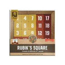 Rubik's Square Wooden Number Puzzle Brainteaser Toy Game Xmas Stocking Filler