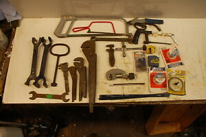 Sellection of 23- plumbing tools
