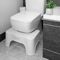 Non Slip Toilet Bath Step Stool Squatting Foot Rest Potty Training Aid Bathroom