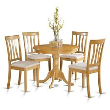 5 Piece Kitchen Nook Dining Set-Small Kitchen Table And 4 Dining Chairs NEW