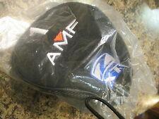 AMF GOLF Z XT HYBRID 24* FOUR 4 BLUE BLACK WHITE STITCHING HEAD COVER SHORT SOCK