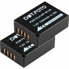 2 x Battery for Fujifilm NP-W126 | X-T1, X-T2, X-T3, X-T10, X-T20, X-T100