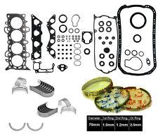 01-05 Honda Civic EX HX D17A2 1.7 SOHC GRAPHITE FULL GASKET ENGINE *RE-RING KIT*