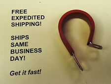 "1 1/2"" P-Clamp; Carbon Steel w/High Temp Silicone Wrap; FREE Shipping!"