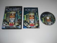 HOTEL GIANT 2 Pc DVD Rom Sim FAST DISPATCH