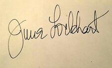Film and TV Actress, June Lockhart - Lost In Space & Lassie - Autograph, Circa e