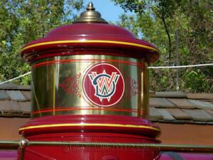 Vintage WALT DISNEY WORLD sign insignia Monorail Ferry Railroad vintage prop