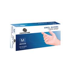Disposable Vinyl Gloves 100 Pcs [S M L XL] Powder Free Latex Free BULK SALVINGS!