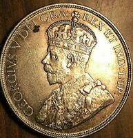 1936 CANADA SILVER DOLLAR COIN - Excellent example!