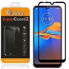 SuperGuardZ FULL COVER Tempered Glass Screen Protector For Motorola Moto E6 Plus