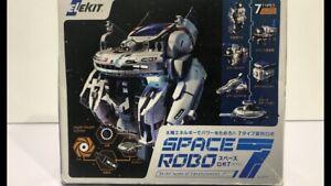 Elekit Space Robo 7 Transforming Robot Figure Model Kit