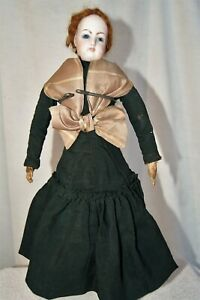 Antique French Francois Gaultier Fashion Doll Gusset Body Incised FG 4