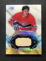 2019-20 UPPER DECK ENGRAINED PETE MAHOVLICH REMNANTS STICK R-PM #ed 64/100