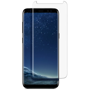 For Samsung Galaxy S8 S9 Plus Tempered Glass Screen Protector Full Cover
