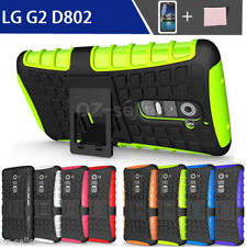 Unbranded/Generic Silicone/Gel/Rubber Mobile Phone Cases, Covers & Skins with Kickstand for LG G2