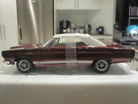 1/18 GMP G1801120 1967 FORD FAIRLANE GT CONVERTIBLE BURGUNDY *NEW* 1 OF 650!!