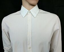 "Hugo Boss Mens Fitted Dress Shirt Pale Pink Size L Chest 42"" Wedding New RRP£110"