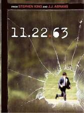 11.22.63 (DVD, 2016, 2-Disc Set) Brand New - Sealed - Free Shipping! 11/22/63