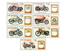 NIC8506 Motorcycles 7 stamps
