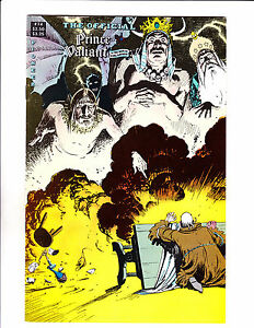 "Official Prince Valiant No 14 1989-Strip Reprints Soft Cover-""Explosion Cover! """