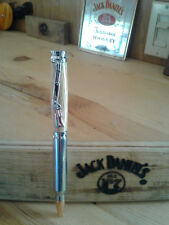 30 cal Bullet pen in jack Daniels barrel wood