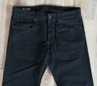 Sale% G-STAR Raw Attacc Straight 51008 W33 L32 Schwarz Herren Jeans Denim TOP
