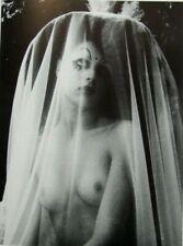 """Irina Ionesco montado Impresión de fotografía 16 X 12"""" 1975 Gótico Desnuda Erotica lesbiana II16"""