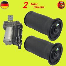 1x Luftfederung Kompressor + 2pc Air Luftfederung Hinten BMW 5er E61 04-10