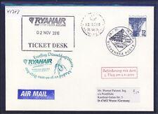 44373) Irland Ryanair FF Madrid - DD/Weeze 31.10.10, feeder mail Slovakei >