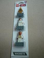 Lego Star Wars C-3PO Princess Leia Admiral Ackbar Magnet Set Not Glued
