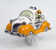 Henry Cavanagh Spikes Cab Taxi Cab Fat Fender Car Ceramic 3D Night Light Bulldog