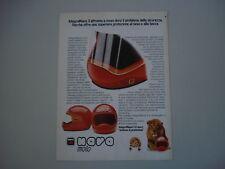 advertising Pubblicità 1982 CASCO NAVA INTEGRAL 3