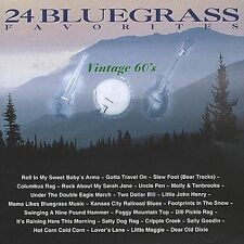 """24 Bluegrass Favorites, CD:""""Vintage 60's by Various""""  NEW SEALED"""