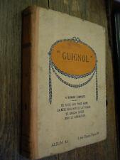Guignol  album XX 4 romans complets