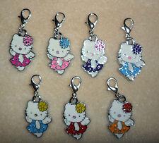 Clip On Charm Enamel Hello Kitty - Bracelet