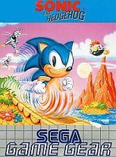 Sonic The Hedgehog 1 (Sega Game Gear) Vintage Game