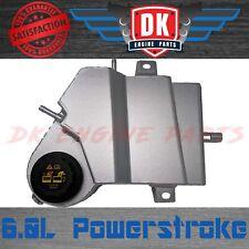 6.0L Ford Powerstroke Silver Aluminum Diesel Coolant Degas Bottle Reservoir
