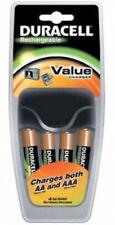Caricabatterie universale CEF 14 CEF14-EU Duracell + 4 pile AA stilo
