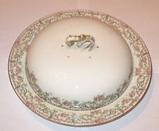 Antique/Vintage Decorative China Limoges Jean Pouyat, Covered Serving Bowl/Plate