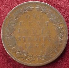 Straits Settlements Cent 1862 (C1212)