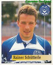 213 RAINER SCHUTTLER GERMANY MSV DUISBURG STICKER FUSSBALL 1995 PANINI
