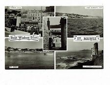 CORNISH POST CARD REAL PHOTO BY G.W.F. ELLIS BEST WISHES FROM ST. MAWES