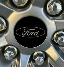 """Ford 2.5"""" x 2.5"""" Overlay Logo Decal Kit with Center Cap Decals"""