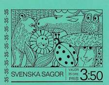 Zweden booklet 1969 PB 23 Postfris MNH 657-661 - Sprookjes