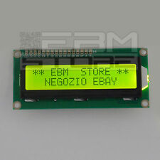 Display VERDE 16x2 - lcd retroilluminato HD44780 arduino pic - ART. Z001