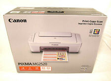 Canon PIXMA MG2520 Inkjet Photo All-in-One Printer - Print, Copy, Scan  No Ink!